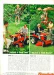 Click here to enlarge image and see more about item Z11300: 1965 - Simplicity lawn tractor ad
