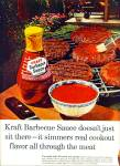 Click here to enlarge image and see more about item Z1135: Kraft barbecue sauce ad 1965