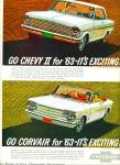 Click to view larger image of 1962 -  Chevrolet Corvair for 1963 (Image1)