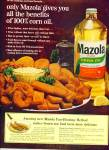Click here to enlarge image and see more about item Z1137: Mazola  pure corn oil ad 1965