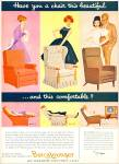 Click here to enlarge image and see more about item Z11401: 1960 -  Barca Lounger ad