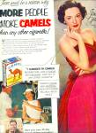 Click here to enlarge image and see more about item Z11437: 1953 -  Camels cigarettes - JANE GREER