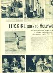 Click to view larger image of 1950 -  Lux Girl goes to Hollywood (Image1)