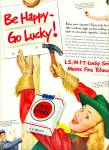 1950 -  Lucky Strike ad