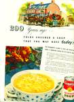 1949 - Campbell's chicken noodle soup.