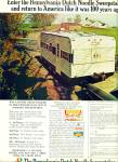 Click here to enlarge image and see more about item Z11520: 1972 -  Pennsylvania Dutch Noodle swewepstake