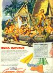 1944 -  Cannon Towels ad GAY INTEREST Soldiers