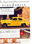 Click here to enlarge image and see more about item Z11558: 1939 - Oldsmobile custom 8 cruiser ad