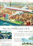 1953 -  Douglas airplanes ad