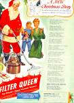 Click here to enlarge image and see more about item Z11613: 1947 -  Filter Queen Vacuum cleaner ad