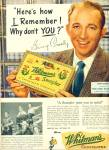 1950 -  WHITman's Chocolates- BING CROSBY