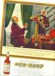 Click here to enlarge image and see more about item Z11662: 1961 -  Old Crow Whiskey ad