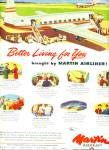 1947 -  Martin Aircraft ad Airplane Better Living