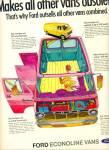 1969 -  Ford econoline vans