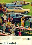 Click to view larger image of 1969 -  Chevrolet station wagons ad (Image2)
