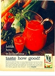 Click here to enlarge image and see more about item Z4479: V-8 Vegetable juices ad 1941