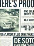 Click to view larger image of 1941 -  DeSoto fluid drive automobile ad (Image1)