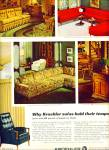 Click here to enlarge image and see more about item Z1179: Kroehler sofas ad 1965