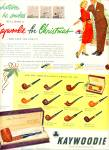 Click here to enlarge image and see more about item Z11807: 1951 -  Kaywoodie pipes ad