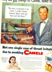 Click here to enlarge image and see more about item Z11813: 1951 - Camel Cigarettes - HENRY FONDA