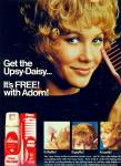 1971 - Adorn UPSY DAISY AD BLONDE MODEL