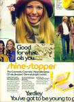 Click here to enlarge image and see more about item Z11885: 1971 - Yardley cosmedic cosmetic ad