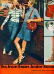 1971 - Sears Junior Bazaar ad BLONDE MODELS