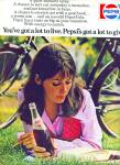 Click here to enlarge image and see more about item Z11903: 1971 -  Pepsi Cola ad