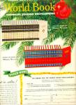 Click here to enlarge image and see more about item Z12002: 1955 -  World Book encyclopedia ad