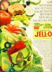 Jello salad gelatin mix ad 1965