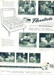 Flexsteels chairs - Firestone Foamex ad 1955