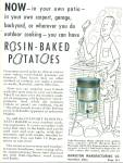 Rosin Baked potatoes ad 1955