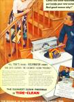 Tide automatic machine soap ad 1956