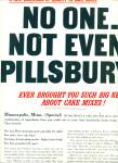 Click here to enlarge image and see more about item Z1372: Pillsbury complete cake mix ad 1956