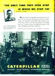 Click here to enlarge image and see more about item Z1411: Caterpillar diesel engines ad 1946
