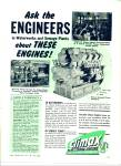 Climax blue streak engines ad 1946