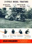 Click here to enlarge image and see more about item Z1425: 1946 Allis Chalmers Diesel tractors AD