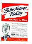 The Dual Parking Meter Company ad 1946