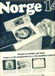 Click here to enlarge image and see more about item Z1461: Norge clothes washer ad 1964
