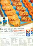Click here to enlarge image and see more about item Z1473: Quick Quaker oats and Mothers oats ad 1964