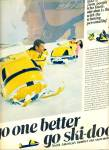 Click here to enlarge image and see more about item Z1476: 1961 Ski - doo Snowmobile AD