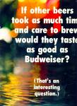 Budweiser Beer ads 1969