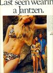 Click here to enlarge image and see more about item Z1491: Jantzen bathing suits ad 1970