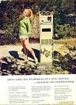 Click here to enlarge image and see more about item Z1526: Lennox air conditioning ad 1965