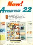 Click here to enlarge image and see more about item Z1520: Amana 221 refrigerator ad 1965