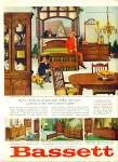 Click here to enlarge image and see more about item Z1521: Bassett Furniture ad 1965