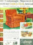 Customagic slipcovers ad 1956