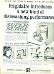 Click here to enlarge image and see more about item Z1565: Frigidaire dishwasher ad 1965
