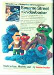 Sesame Street by Knickerbocker ad 1977