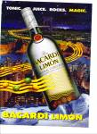 Click here to enlarge image and see more about item Z1647: Ron Bacardi Limon  Rumad 1996